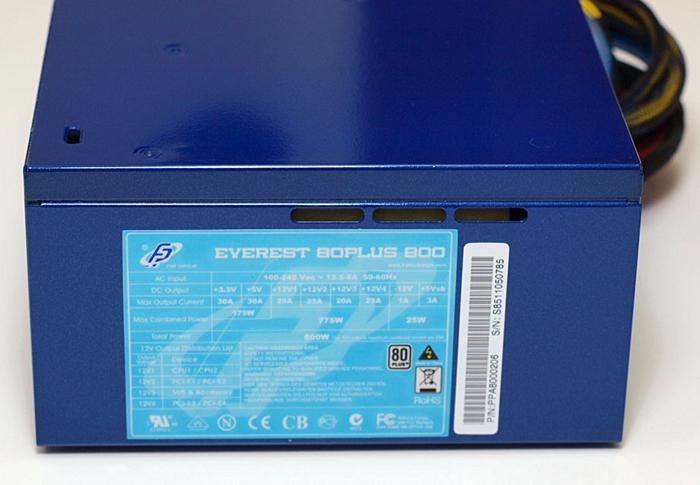 FSP Everest 80Plus 800W