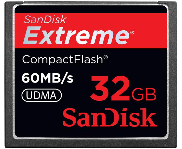 SanDisk Extreme CF 32ГБ и Extreme Pro SDXC UHS-I