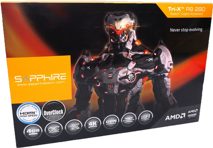 Sapphire TRI-X R9 290 4GB GDDR5 OC