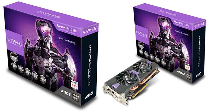 Sapphire Radeon R9 285 Dual-X OC
