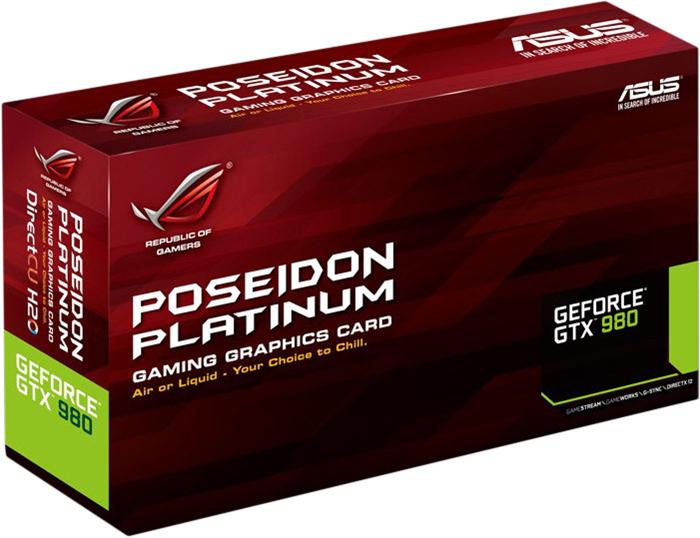 ASUS Geforce 980GTX Poseidon Platinum