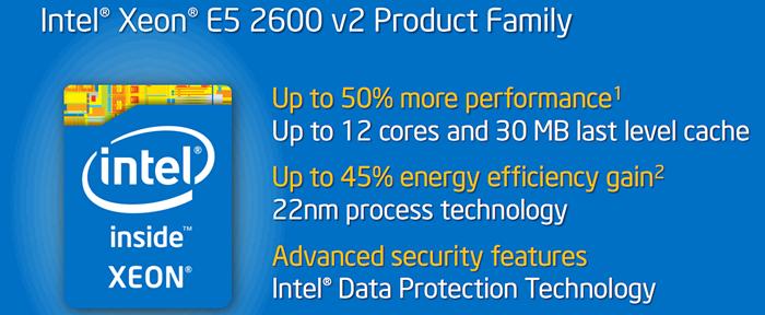 Intel Xeon E5-2650LV2 Ivy Bridge-EP