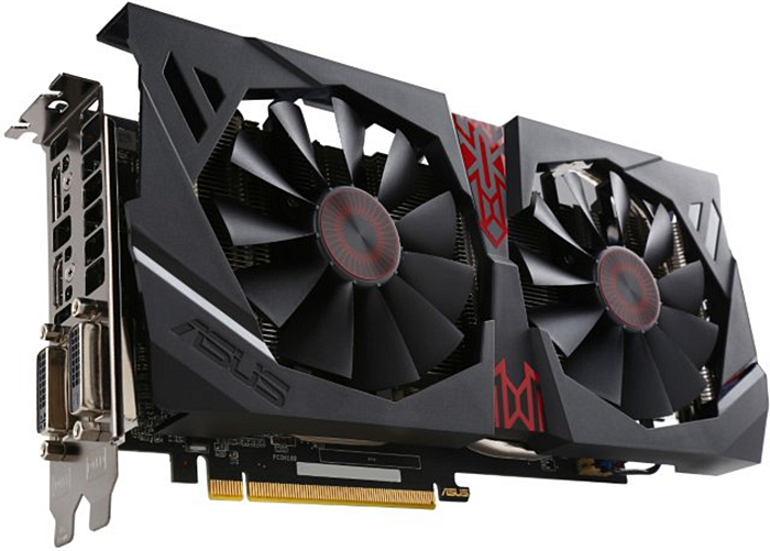 ASUS R9 380 Strix OC 2GB
