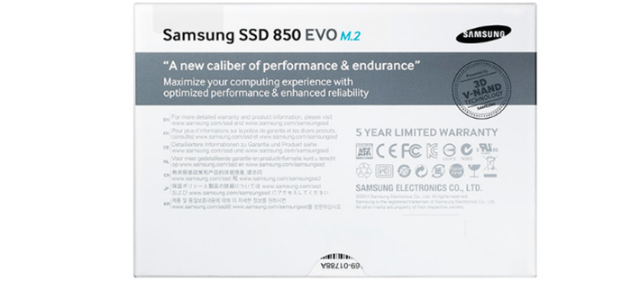 Samsung SSD 850 Evo M2